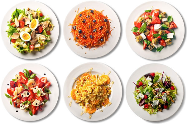 100 salads from the New York Times